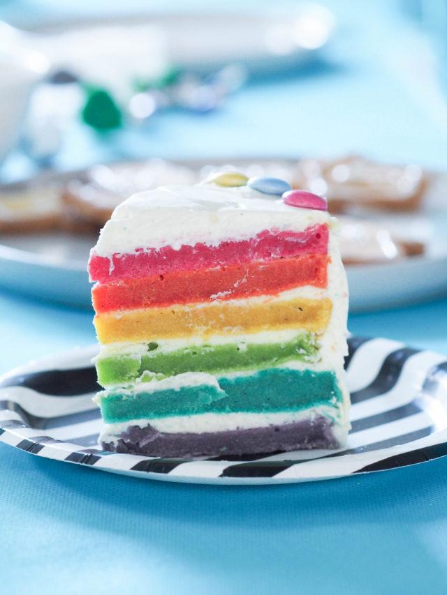 rainwbow cake